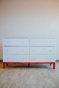 DIY: IKEA TARVA Dresser Hack