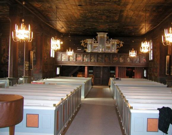 Interiörbild, Bottnaryds kyrka