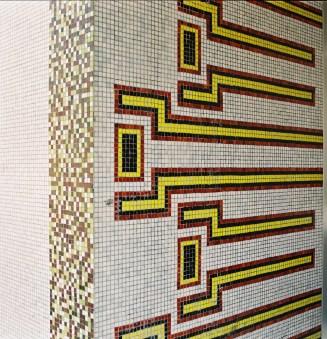 mosaikdetalj Irvall