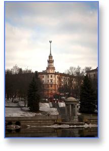 Минск, ротонда, Свислочь