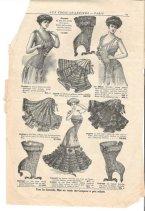 1900s underwear ad