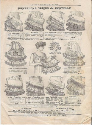 Petticoats of the early 1900s