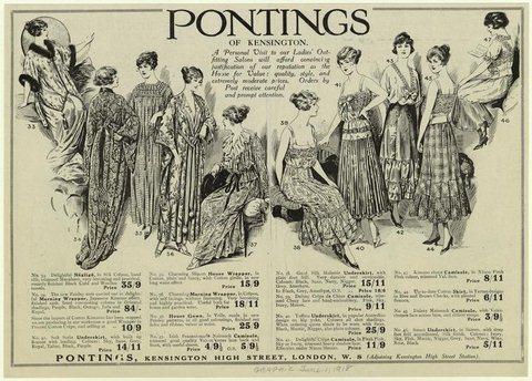1918 underwear ad