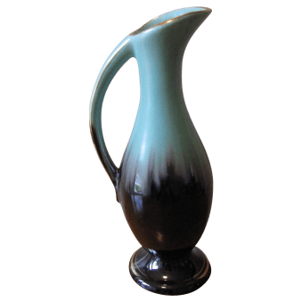 Blue Mountain Pottery was popular in the 1950s and is often found in Goodwills