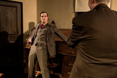 Sean Jacklin in Bygone Theatre's His Girl Friday.