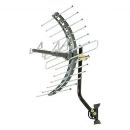 GE Pro Outdoor/Attic Mount HD Antenna, Gray