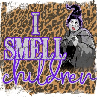 I Smell Children - Sublimation Design