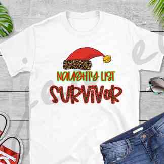 Naughty List Survivor Tee
