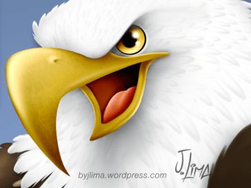 bald eagle american aguia americana careca jeans mascot design character mascote consept personagem empresa desenho passaro bird jlima 1