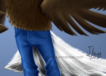 bald eagle american aguia americana careca jeans mascot design character mascote consept personagem empresa desenho passaro bird jlima 2