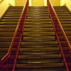 Ellis Island Interior Stairs