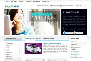 A Free Release For B Synegy –The Best Free Joomla Template 1.5