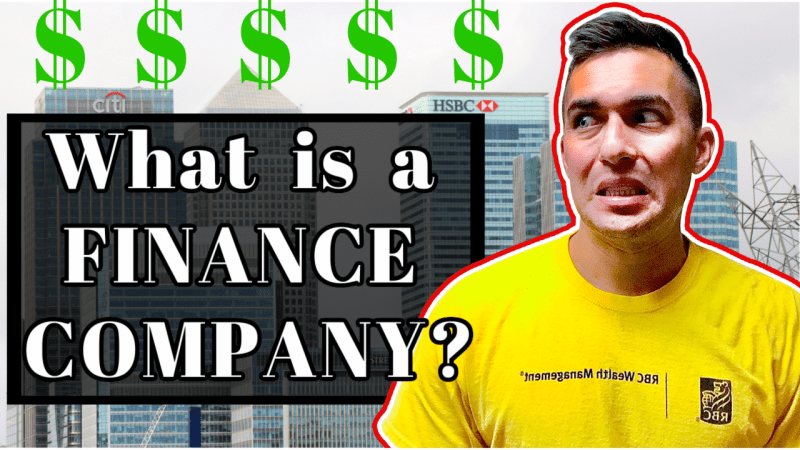 What is a Finance Company?