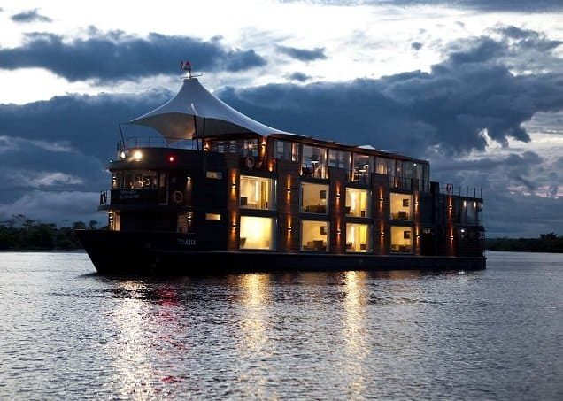 Green Cruise on the Amazon river with Aqua Expeditions