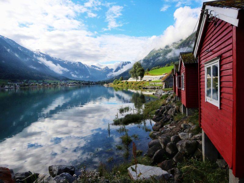 Jeziora w Norwegii
