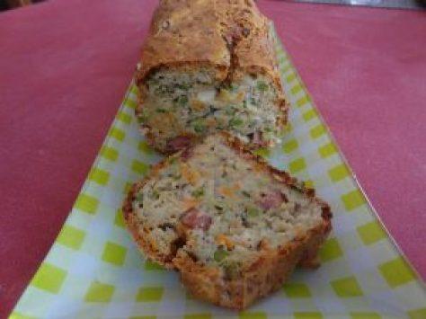 cake jambon légumes 3