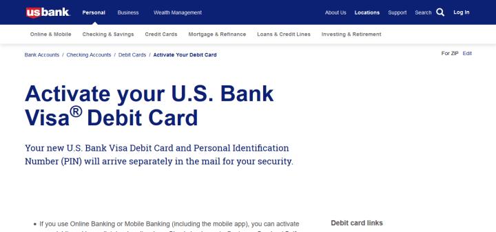 usbank.com/activate