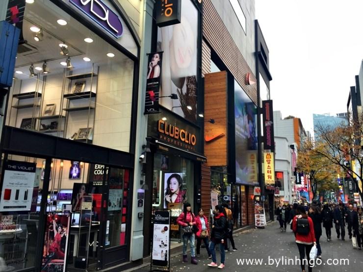Thiên đường mua sắm Myeongdong