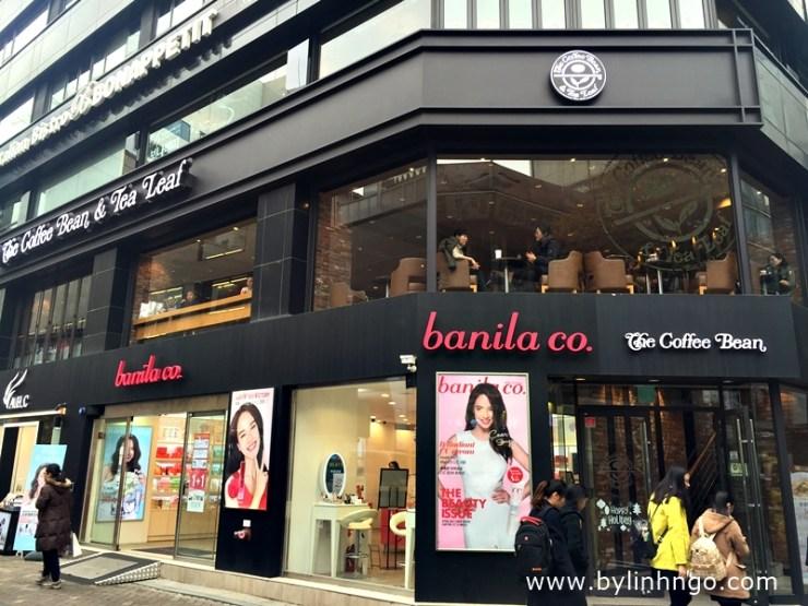 Banila Co Store at Myeongdong