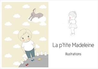 La p'tite Madeleine, illustrations