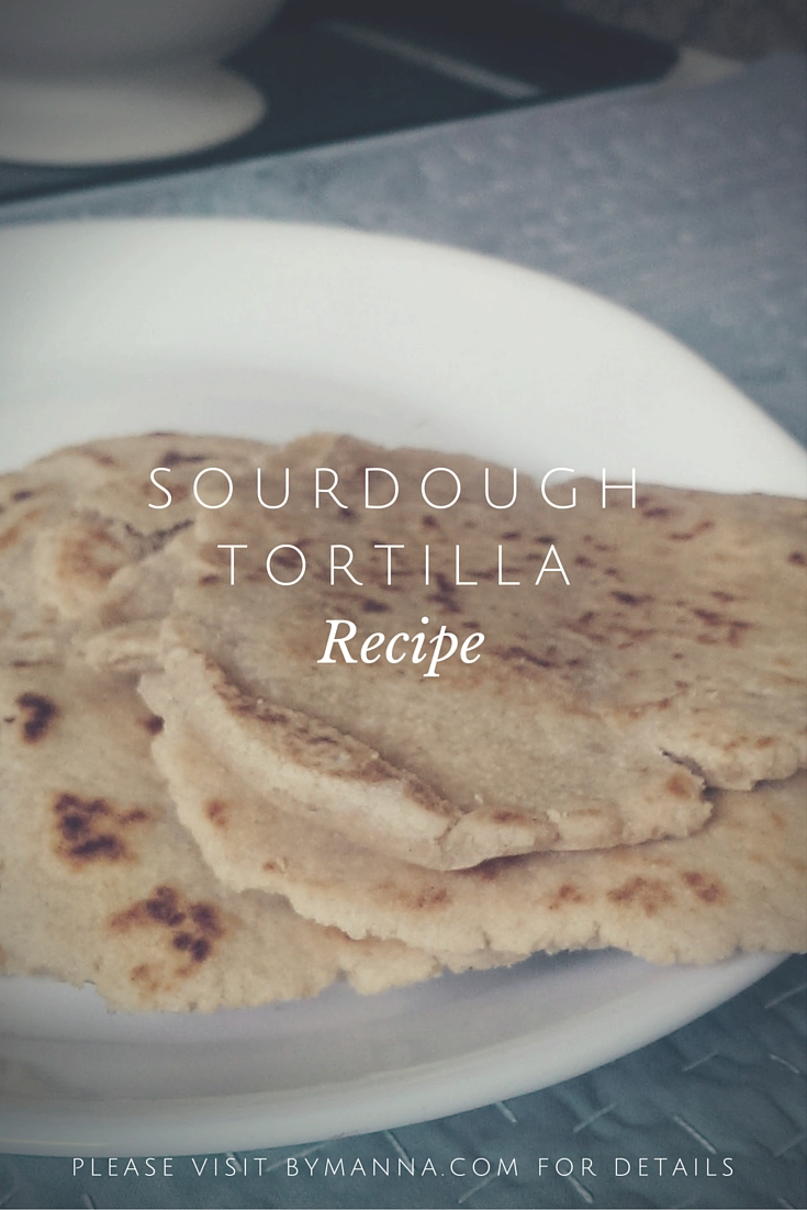 Sourdough Tortilla Pinterest Graphic