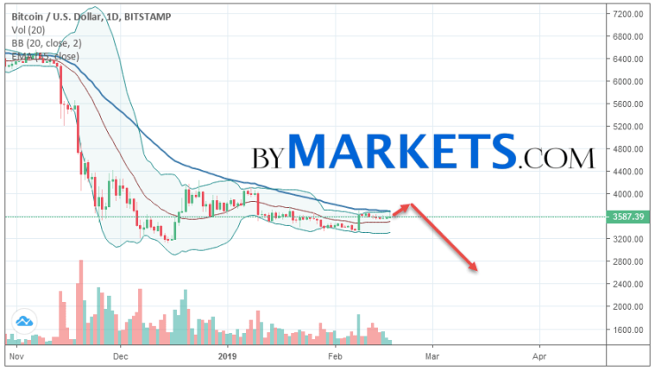 Bitcoin (BTCUSD) weekly forecast on February 18 — 24, 2019