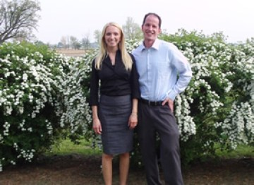 John and Anna Bymaster (Now Carothers), Founders of Bymaster Bankruptcy Law Offices