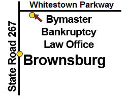 Brownburg bankruptcy attorney - the map to our office