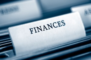 Folders with title of Finances
