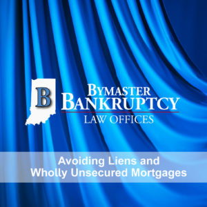 Can you avoid liens and wholly unsecured mortgages in bankruptcy?