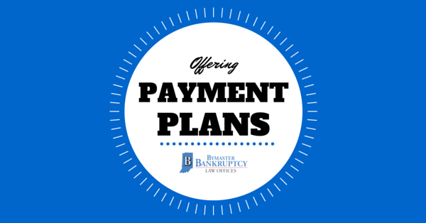Bymaster Bankruptcy Law Offices offers payments plans