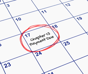Chapter 13 Bankruptcy Payment Due