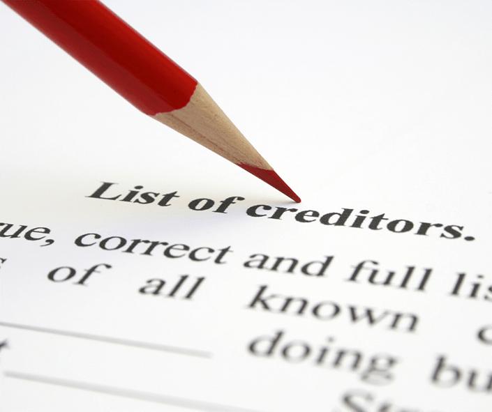 Debt Collectors Calling after bankruptcy -List of Creditors