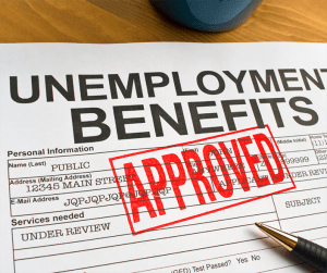Unemployment benefits and filing bankruptcy