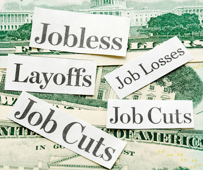 Job Layoff and Bankruptcy
