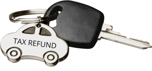 Can I Purchase a Car with My Tax Refund before filing bankruptcy?