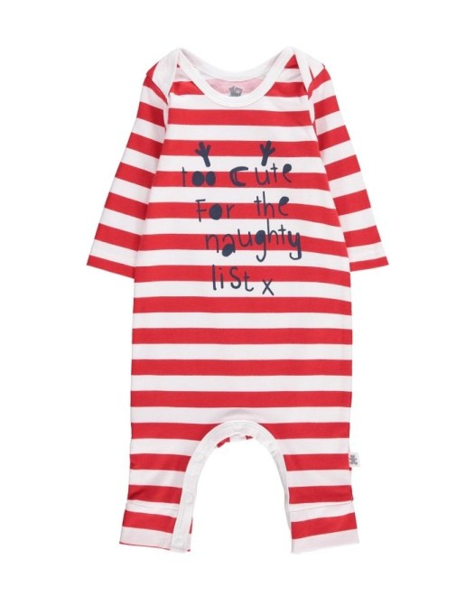 Woolworths Too Cute For The Naughty List Sleepsuit R120