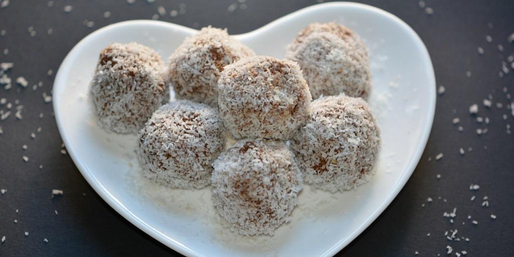 Palline di zucca-cioccolato-cocco
