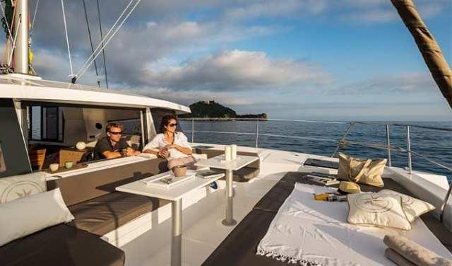 Viaje para Navegar en Catamaran