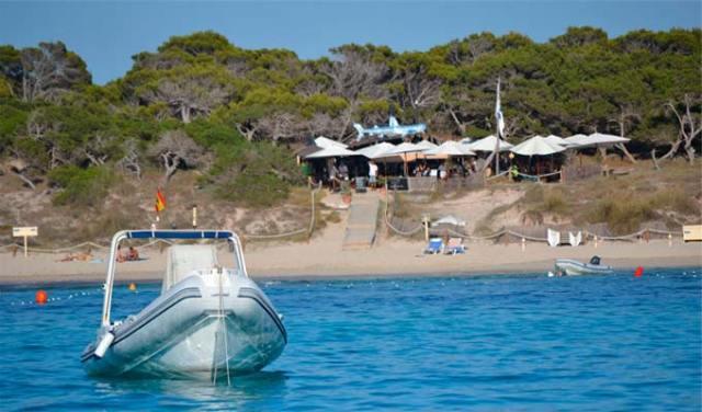 Playa de Illetes en Formentera