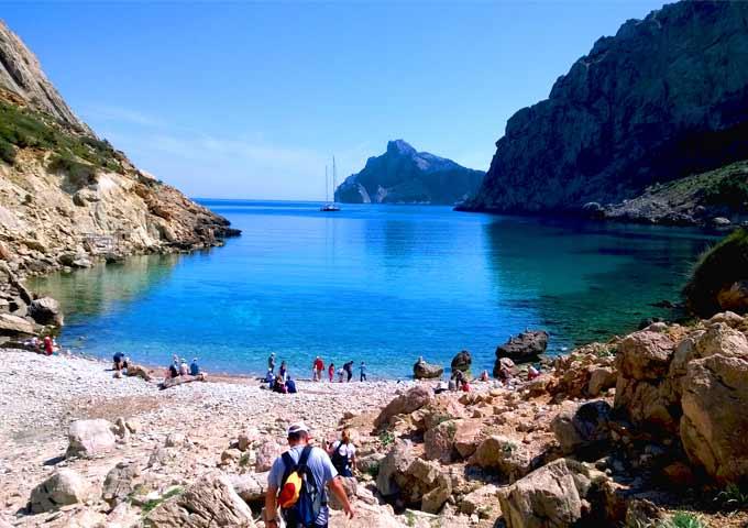 Navegar en Mallorca a Cala Boquer