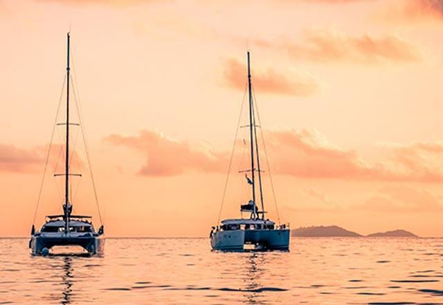 Catamarán en Mallorca