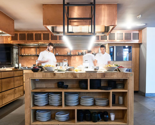electrolux kitchen appliances grey table restaurant project for kadeau copenhagen - by ...