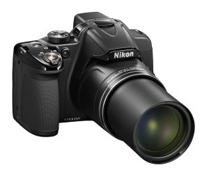 Nikon P530 COOLPIX 16.1MP Digital Camera (CMOS) with NIKKOR Lens (42x Zoom) and Full-High Definition1080pVideo (Black)