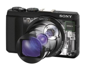 SonyDSC-HX60V-B 20.4MP Digital Camera