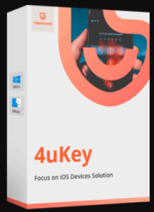 Tenorshare 4uKey 2.1.1 Crack License Key + Registration Code till 2050