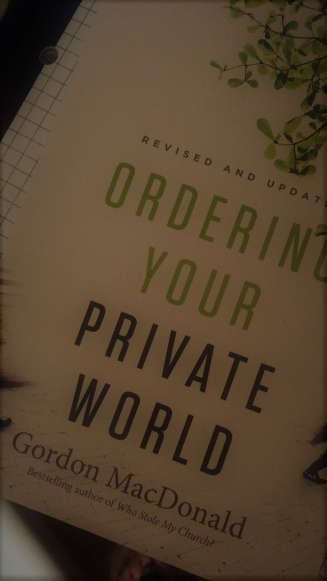 ordering your private world pdf
