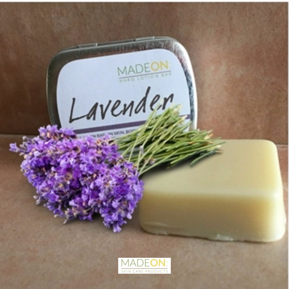 MadeOn Lavender Hard Lotion Bar