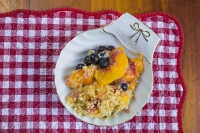 blueberry-peach-cobbler-ramkin