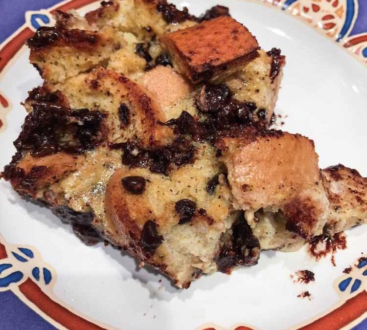 Paleo Chocolate Bread Pudding